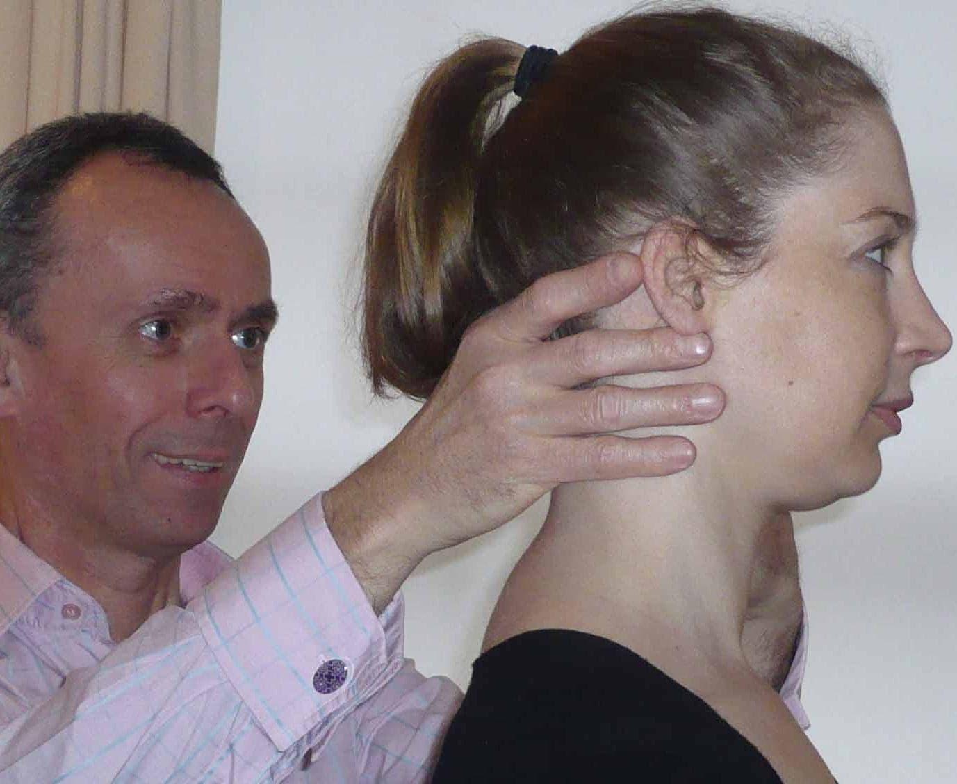 Noel Kingsley teaching Alexander Technique in London